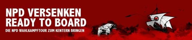 2013-08 NPD Brandstiftertour versenken